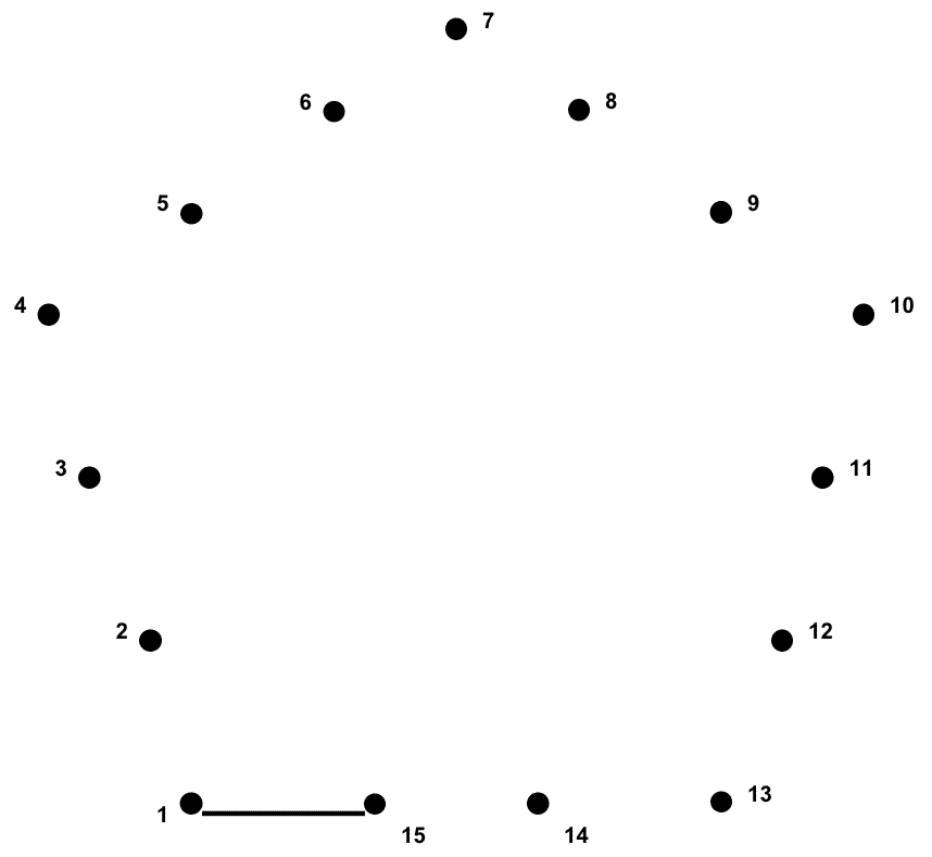 Dot to Dot Shapes at GetDrawings.com | Free for personal use Dot to ...