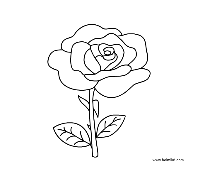 rose coloring pages games - photo#36