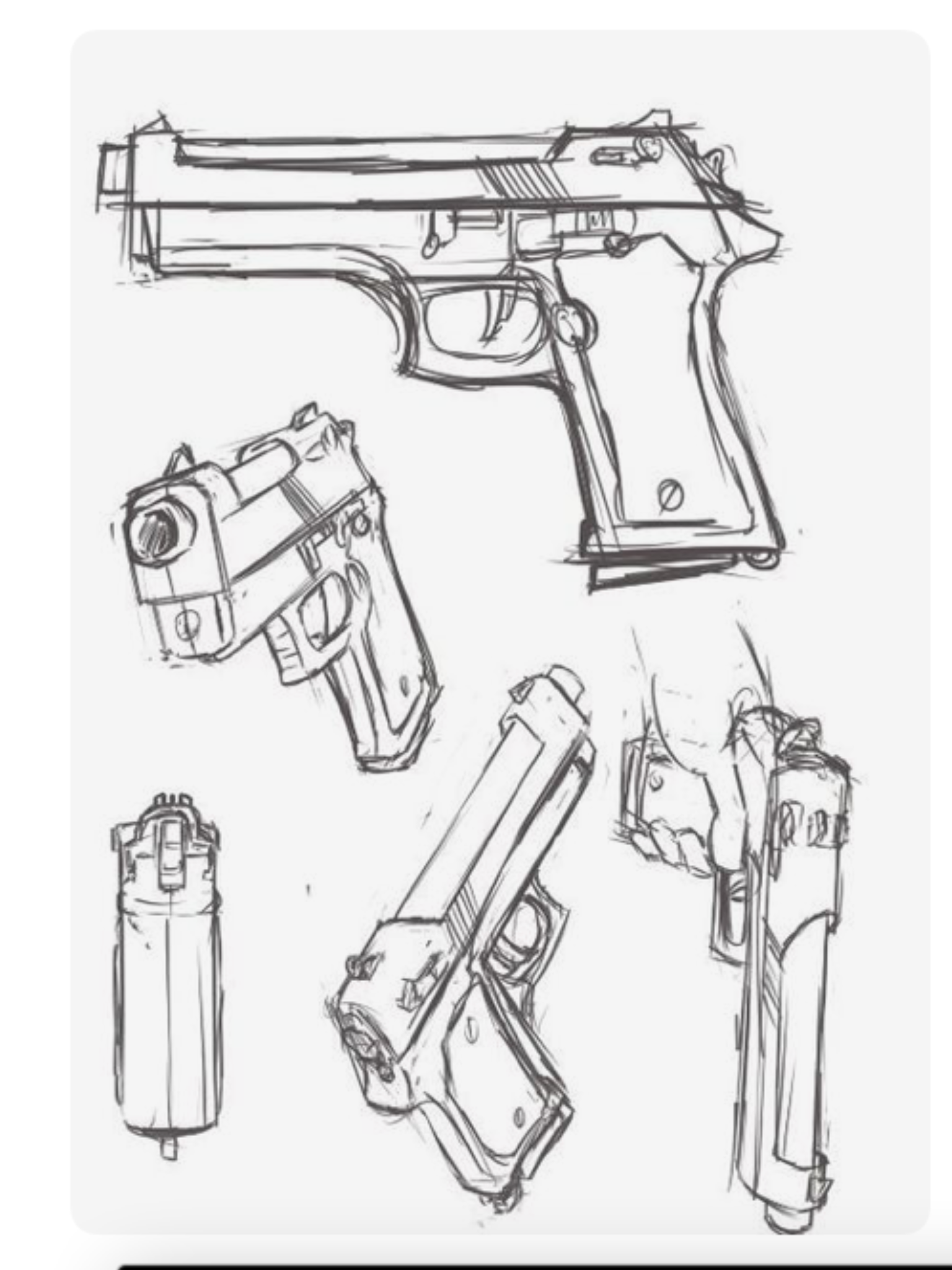 Double Barrel Shotgun Drawing at GetDrawings.com | Free ...