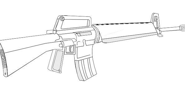 Double Barrel Shotgun Drawing At Getdrawings Com