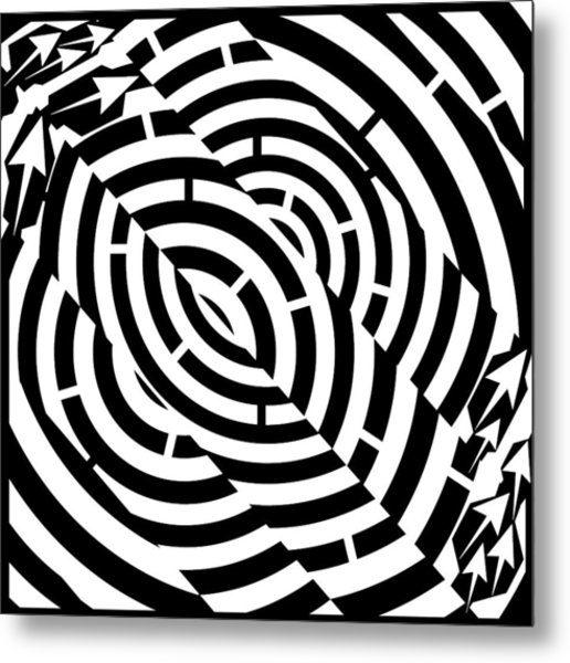 516x600 Double Diagonal Tunnel Maze Drawing By Yonatan Frimer Maze Artist