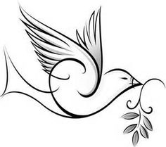 dove drawing at getdrawings com free for personal use dove drawing