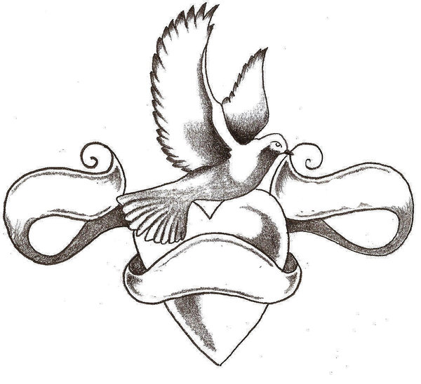 600x548 Dove Tattoo By Thelob
