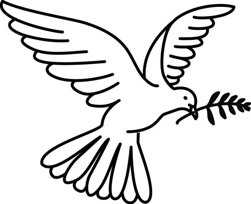 Doves Drawing at GetDrawings.com | Free for personal use Doves ...