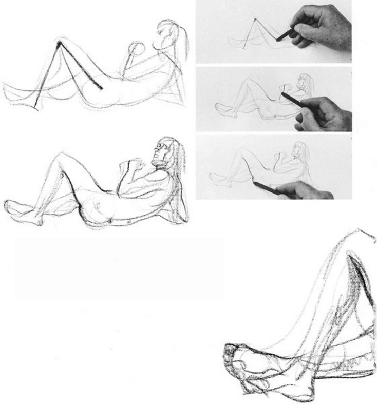 734x789 Drawing Live Models And How To Get The Best Poses Quick Sketches