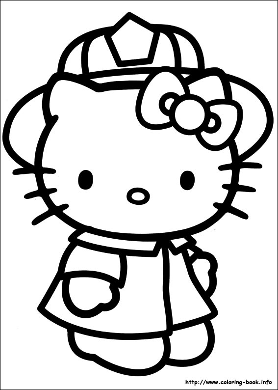 567x794 Colering Book Hello Kitty Coloring Pages On Coloring Book Download