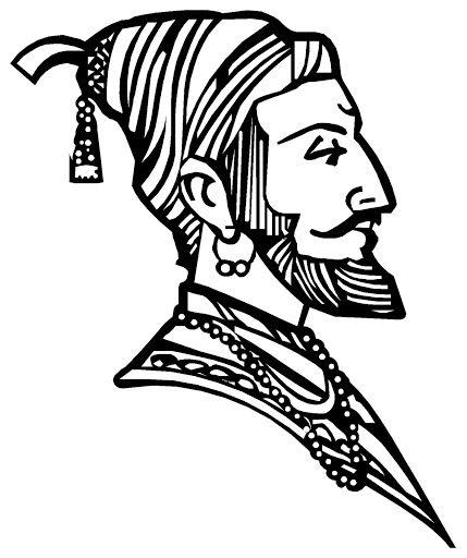 429x512 Gallery Shivaji Maharaj Sketch Hd Pic,