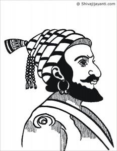 232x300 Pencil Sketches Of Shivaji Maharaj For Free Download