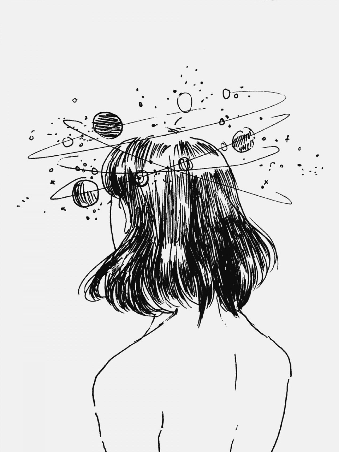 1440x1920 Tumblr Black And White Drawings Aesthetic Tumblr Backgrounds