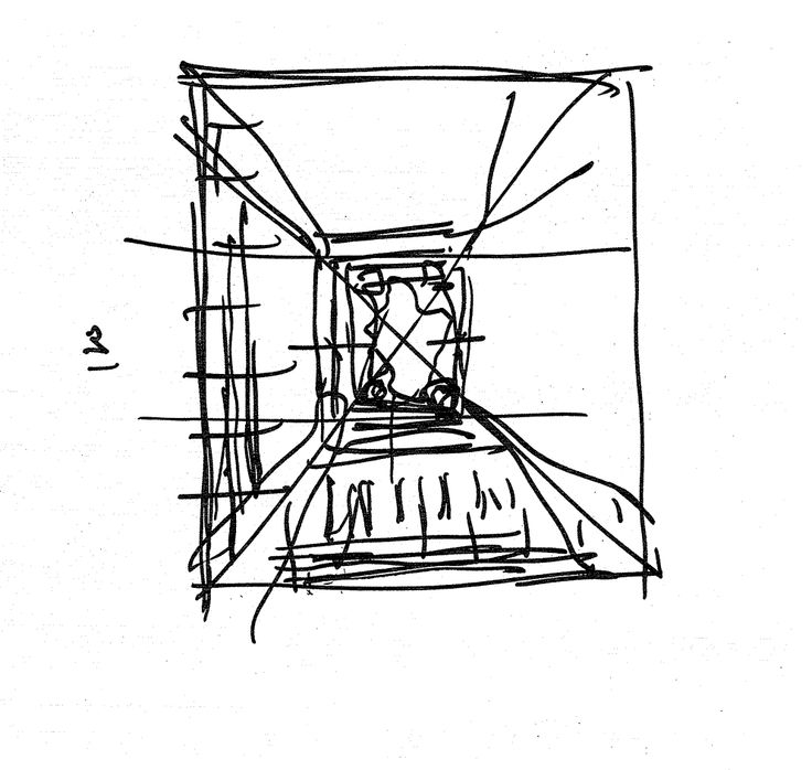 736x698 24 Best Architecture Concept Sketches Images