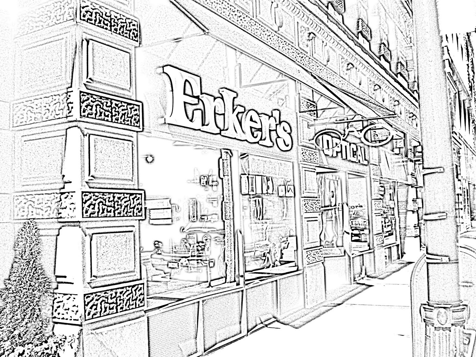 1600x1200 Erkers Fine Eyewear Come Downtown To See The New Erker's Store
