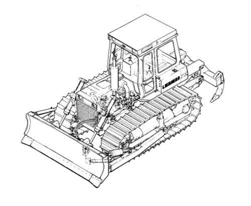 500x411 Liebherr Pr751 Bulldozer Operation Amp Maintenance Manual