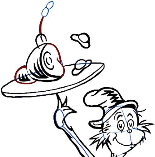 Dr Seuss Drawing At Getdrawings Com