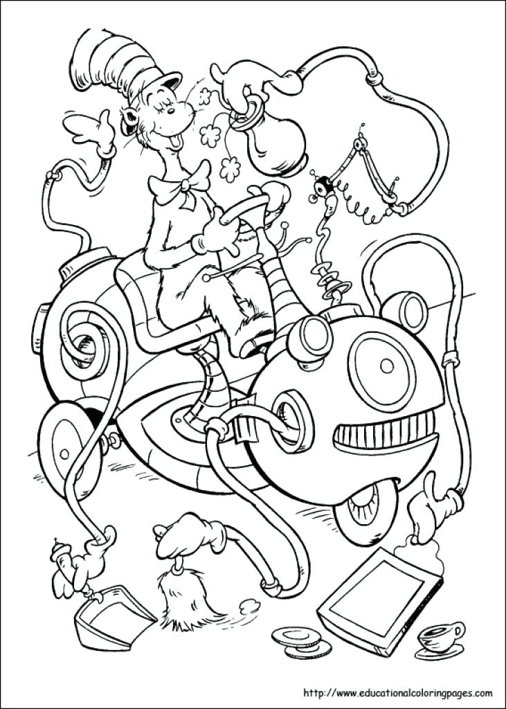 731x1024 dr seuss coloring pages for toddlers color in the jungle best - Dr Seuss Coloring Pages