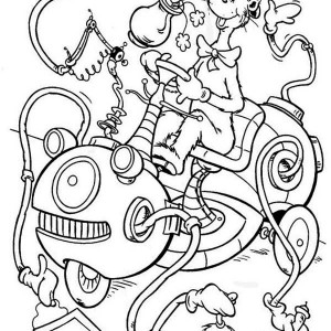 300x300 How To Draw Dr Seuss The Cat In Hat Coloring Page Color Luna