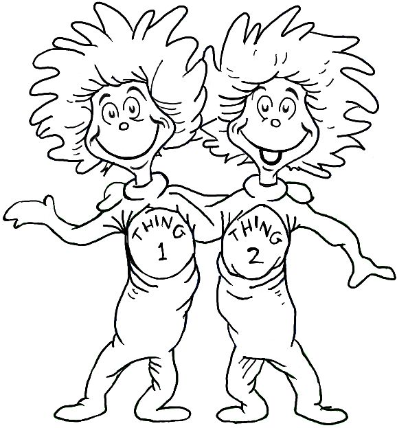 578x623 Dr Seuss Coloring Pages Be Fabulous Printable