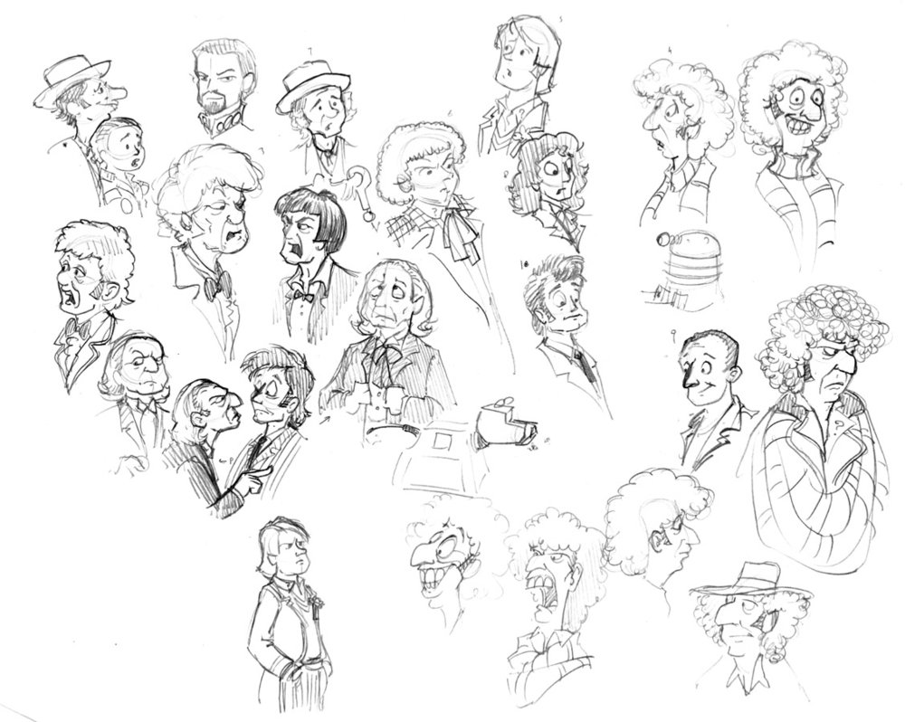 1000x798 Doctor Who Cartoons By Gorpo