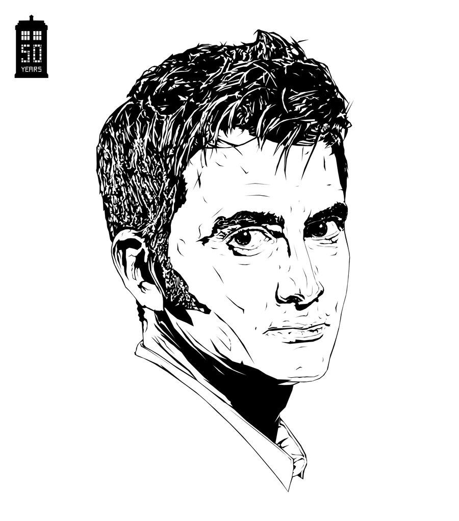 900x1022 Doctor Who David Tennant By Bigdoo
