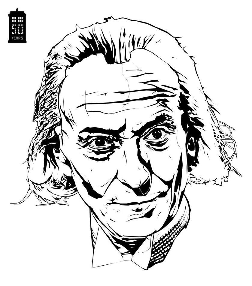 839x953 Doctor Who William Hartnell By Bigdoo