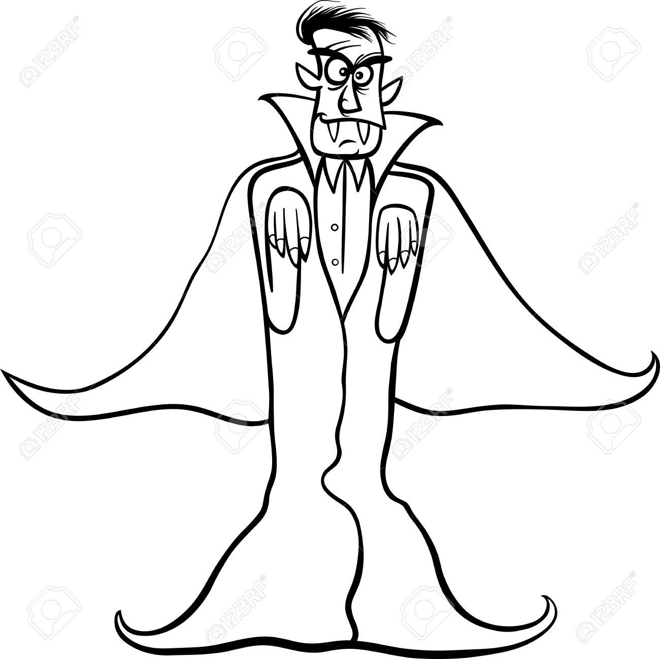 Dracula Drawing