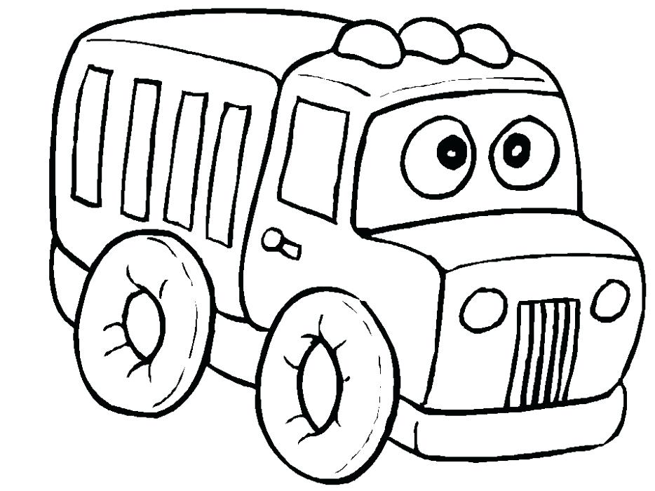 934x700 Coloring Pictures Of Cars And Trucks Car Truck Drag Racer