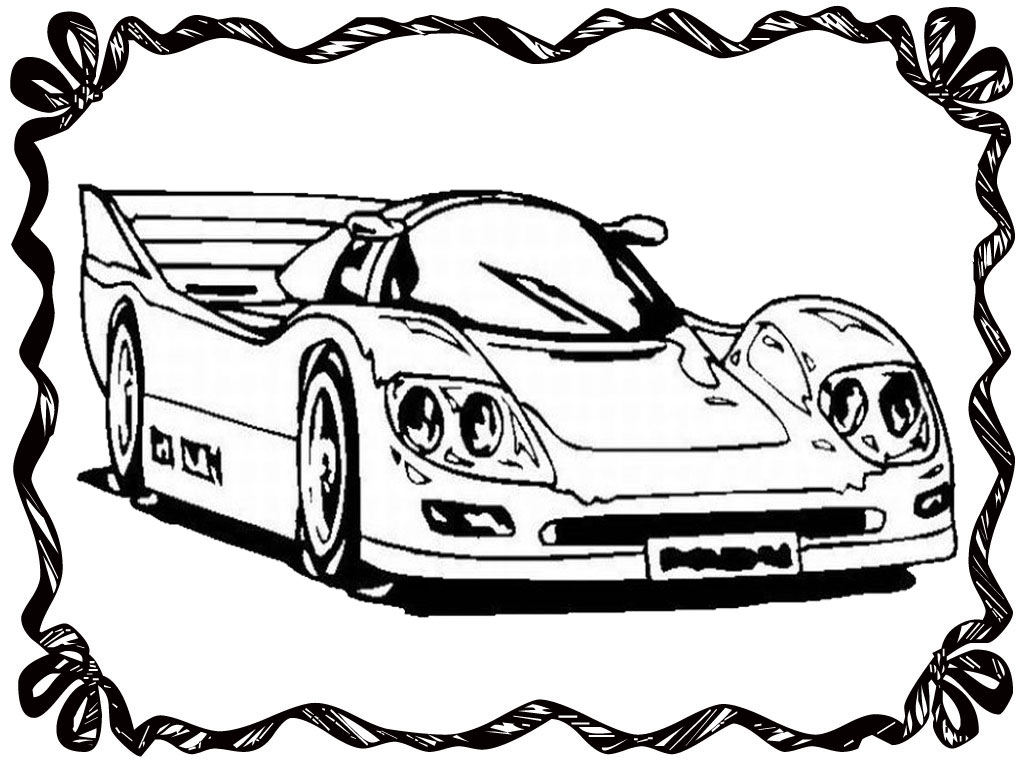 1024x768 Drag Racing Car Coloring Pages Realistic Coloring Pages