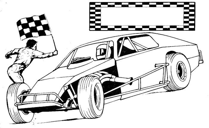 700x429 Dragster Coloring Pages