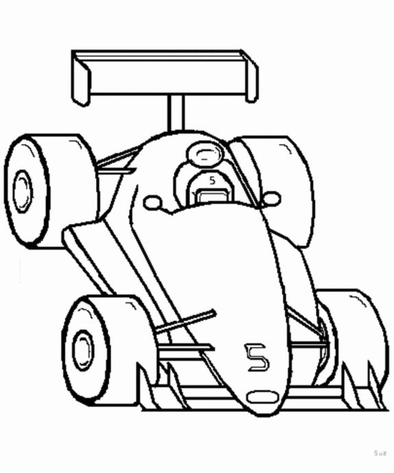 575x690 Indy 500 Race Car Coloring Pages Rally Car Coloring Pages