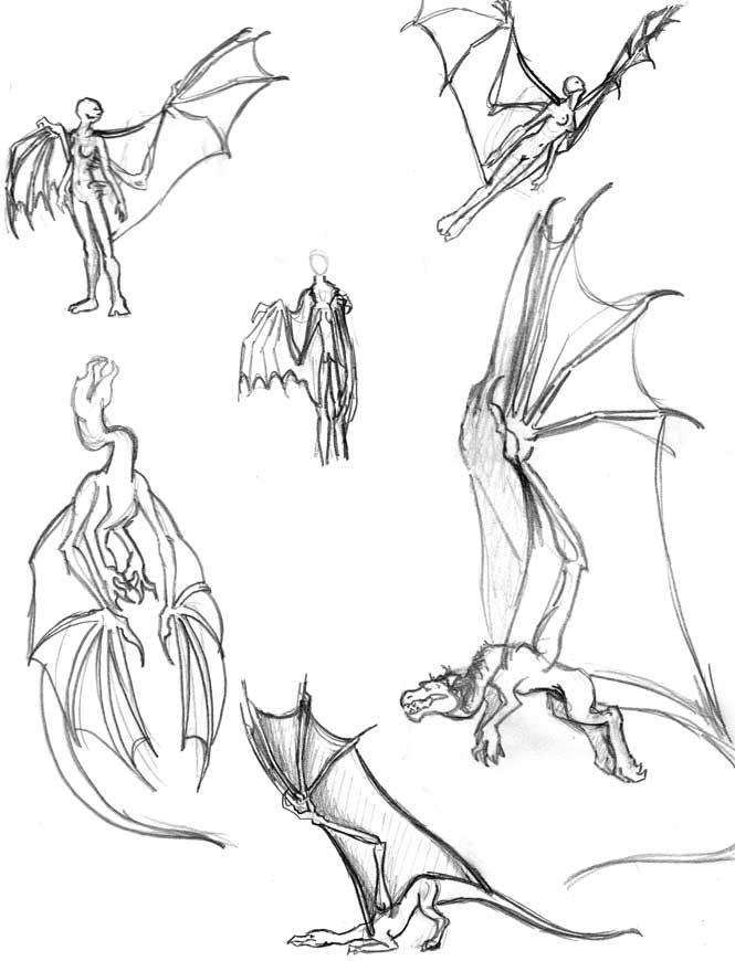 665x870 Dragon Wings