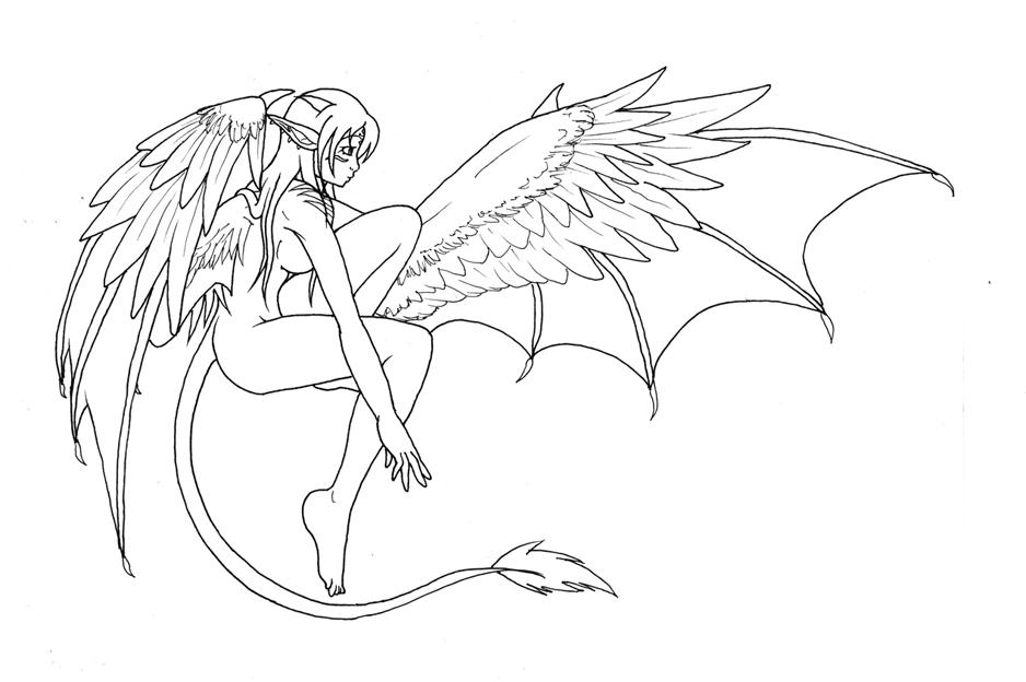 938x624 elf dragon girl kya by leafy chan on deviantart