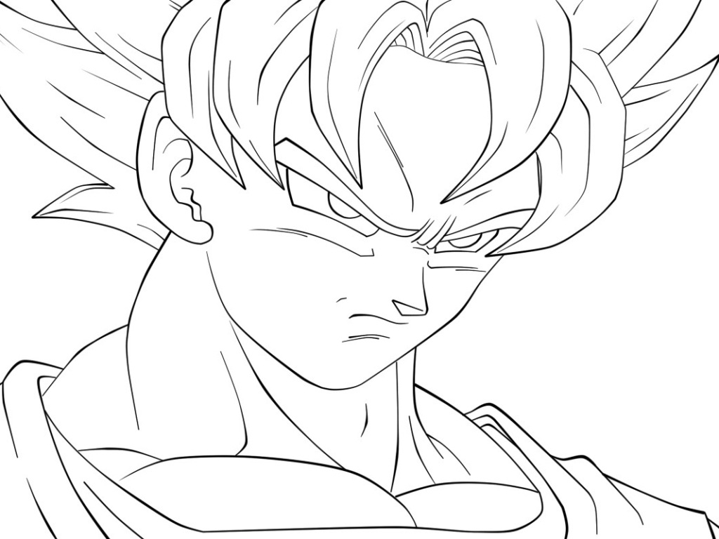 1024x768 Dragon Ball Z Character Drawings Best Collections Of How To Draw