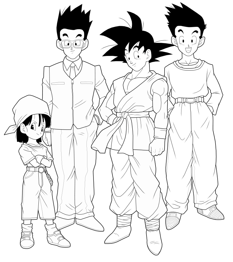 800x900 Dragon Ball Gt 1st Preview By Drozdoo