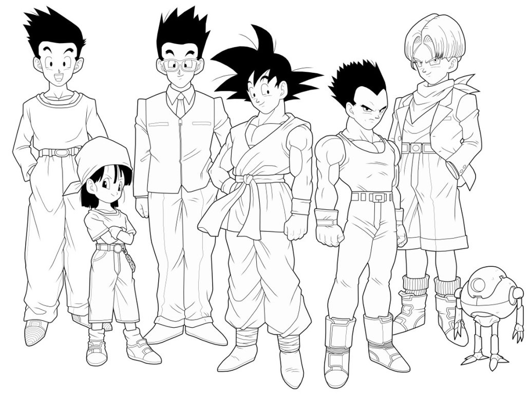1034x772 Dragon Ball Gt 2nd Preview By Drozdoo