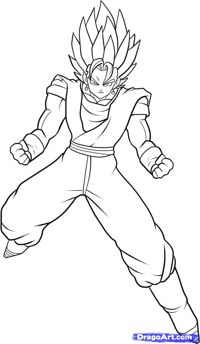 701x1203 Dragon Ball Z Characters Drawings Draw Dragon Ball Gt Characters