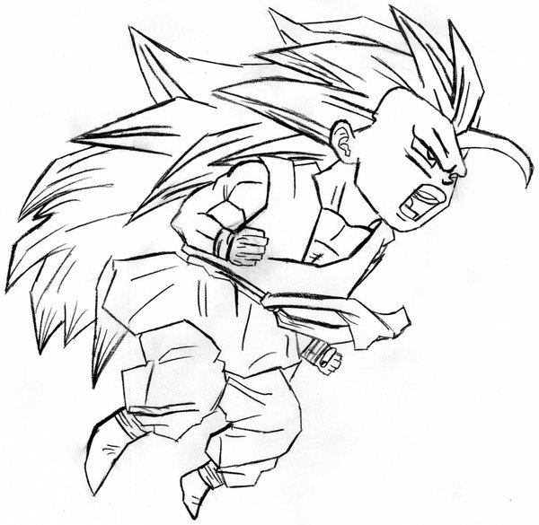 600x585 Dragonball Gt Goku Ssj3 By Mysticsm