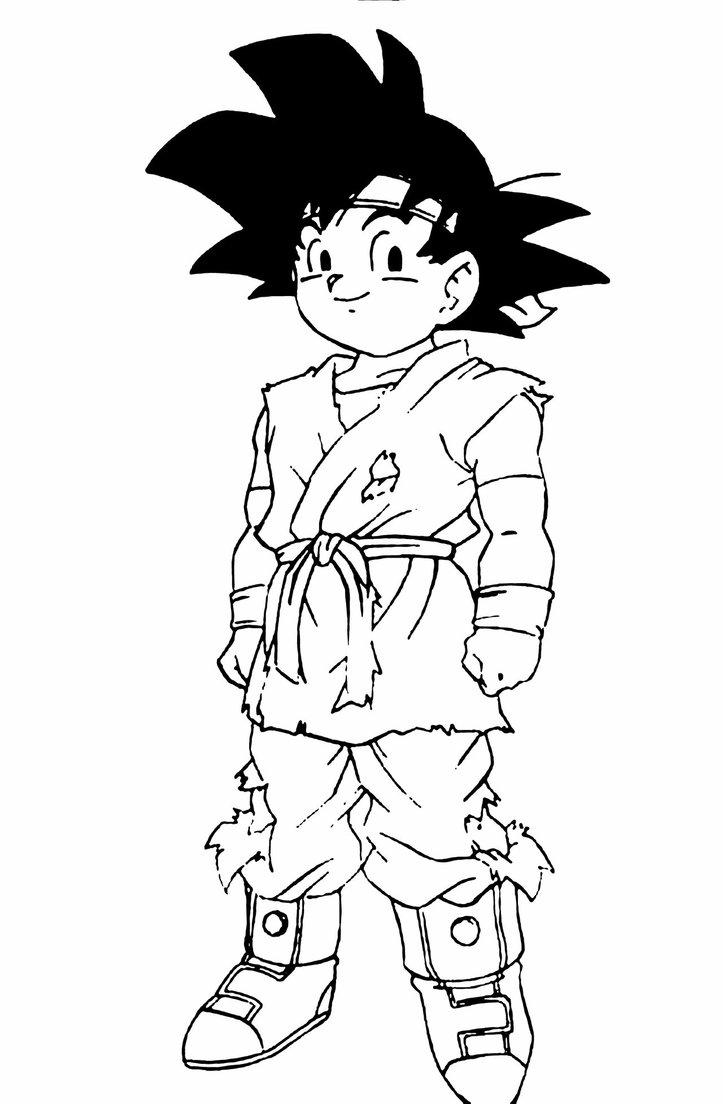 723x1104 Goku Jr. Dragon Ball Gt By Turunksun