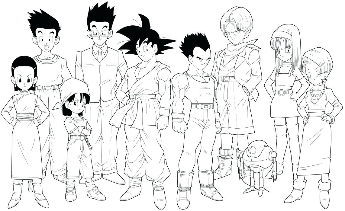 1142x699 Coloring Dragon Ball Gt Coloring Pages Draw About Remodel Free