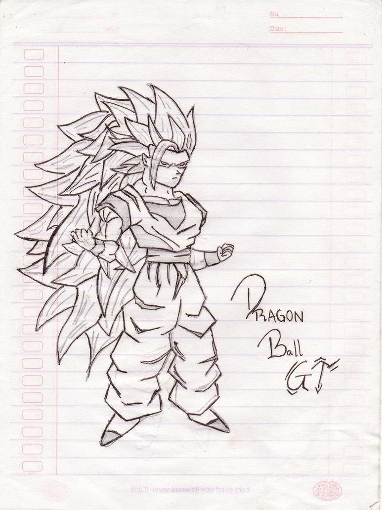 773x1032 Dragon Ball Gt By Almacom