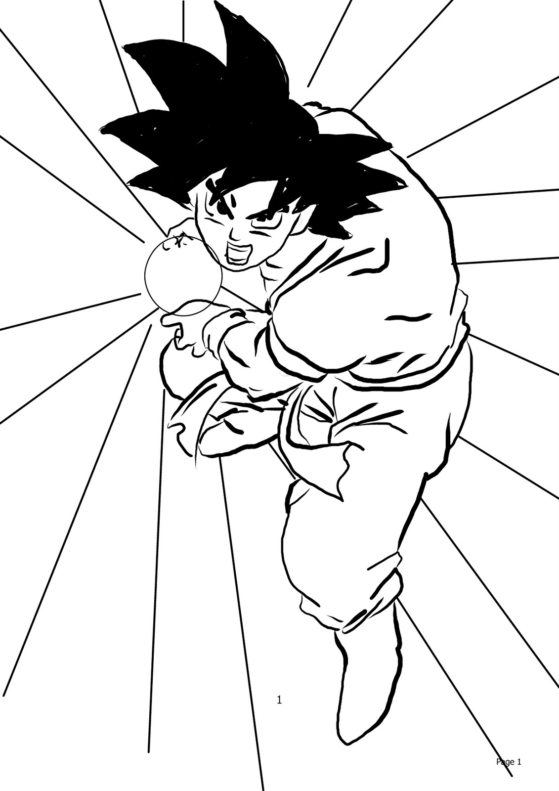 Dragon Ball Z Characters Drawing at GetDrawings.com | Free for ...