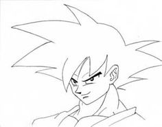 236x185 How To Draw Goku Easy, Step By Step, Dragon Ball Z Characters
