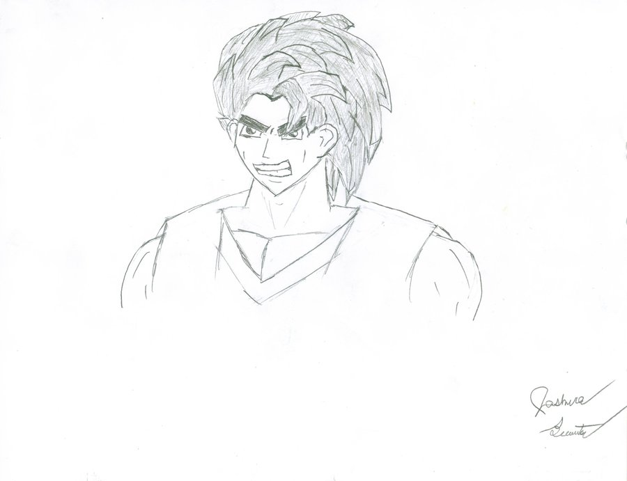 900x691 My Own Dragon Ball Z Character By Jbrew94
