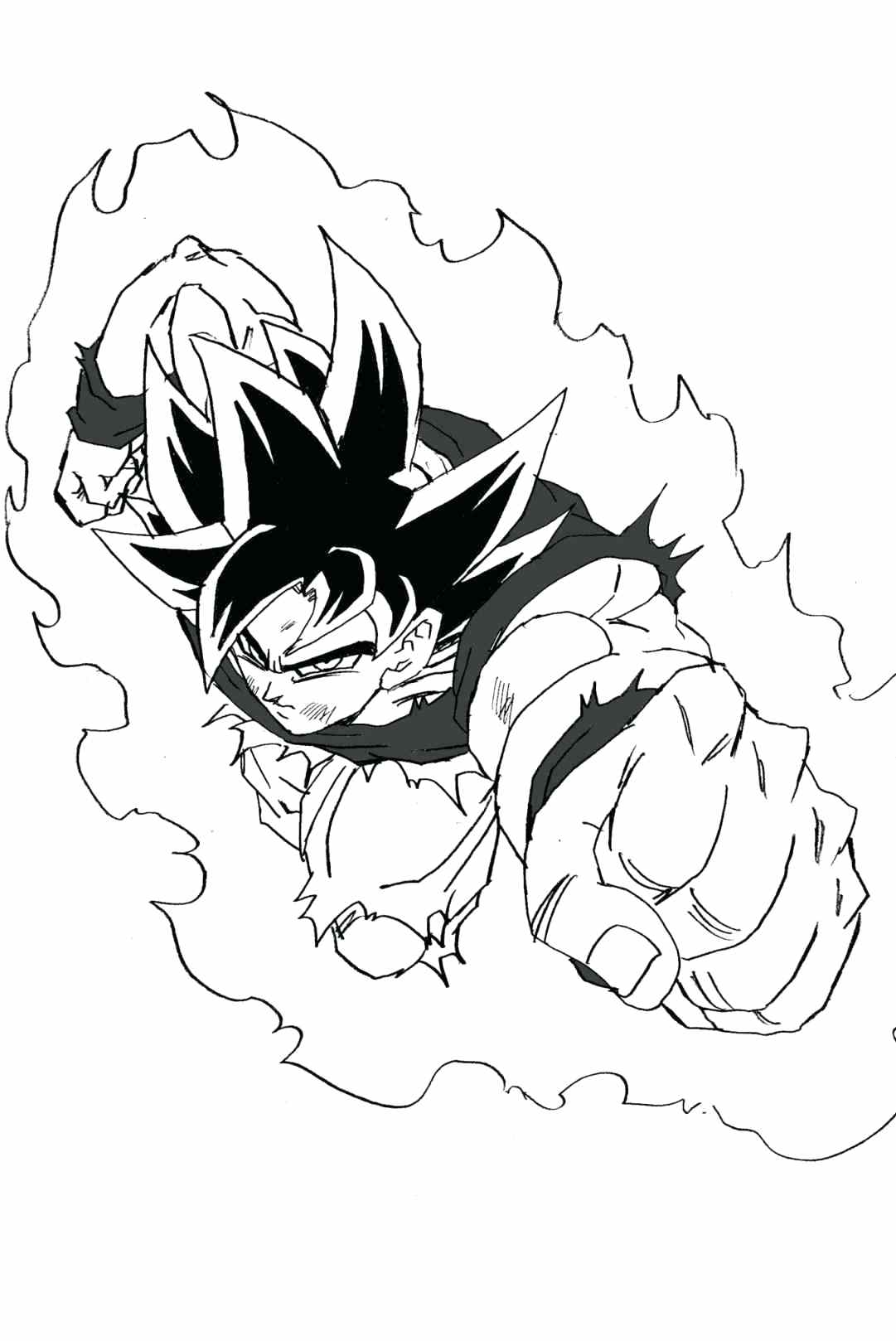 1081x1618 Coloring Coloring Pages Of Dragon Ball Z Characters Pin Drawings