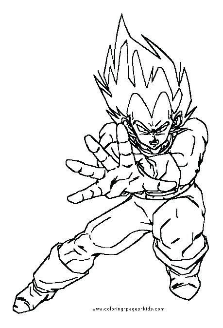 459x673 Coloring Dragon Ball Z Son Dragon Ball Z Coloring Pages For Kids