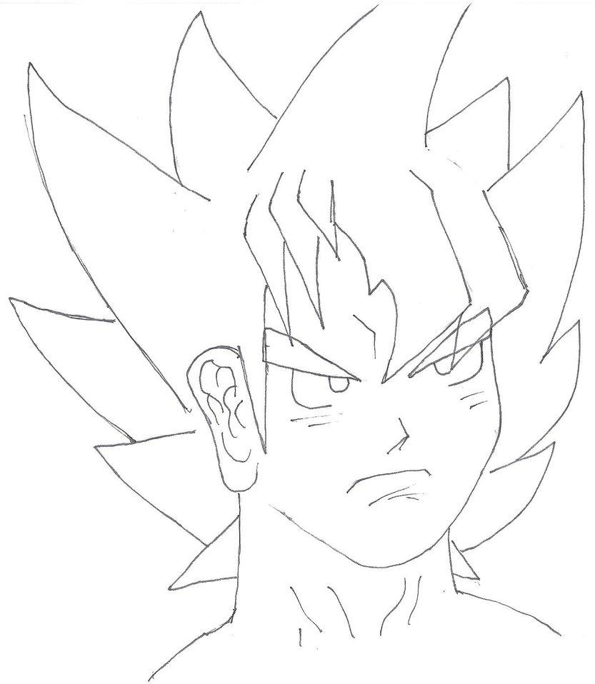 833x958 Custom Dragon Ball Z Super Saiyan 1 Character By