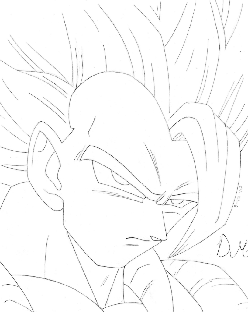 816x1024 Dragon Ball Z How To Draw