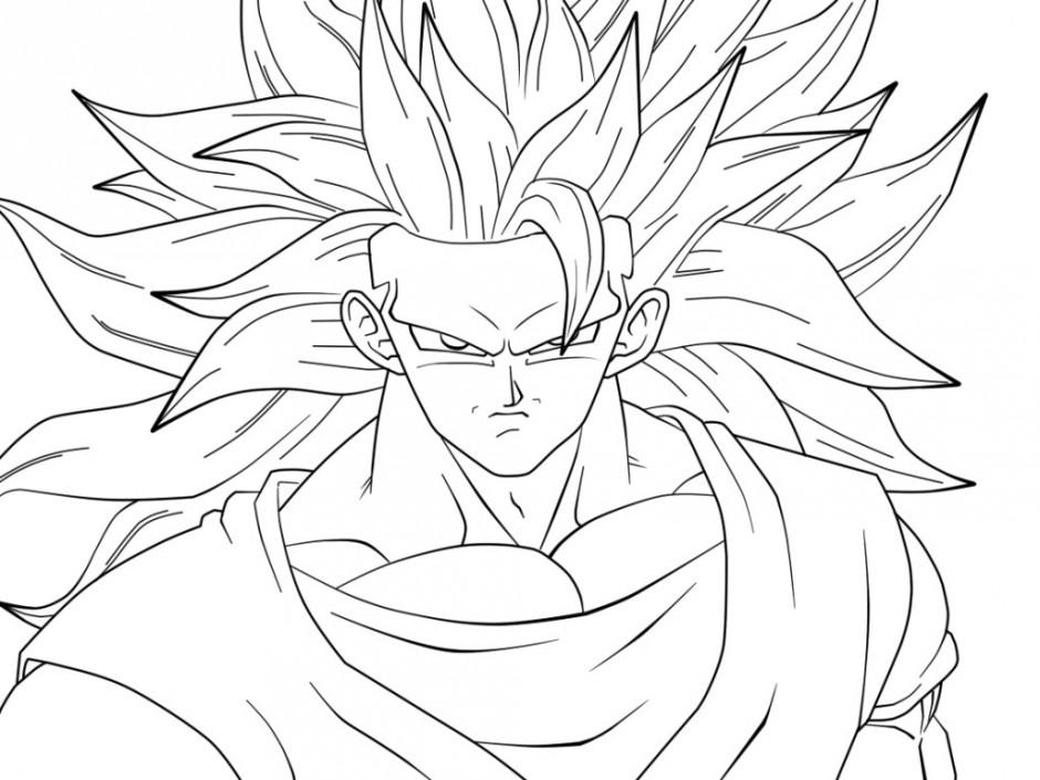 Dragon Ball Z Drawing At Getdrawings Free Download