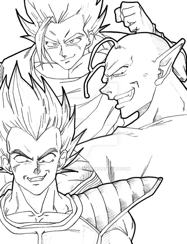 600x783 Dragon Ball Z by ShinMitsuomi on DeviantArt