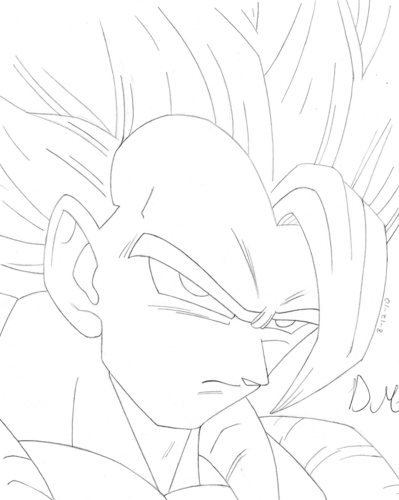 399x500 Dragon Ball Z images Artworx88 My Gogeta drawing! HD wallpaper