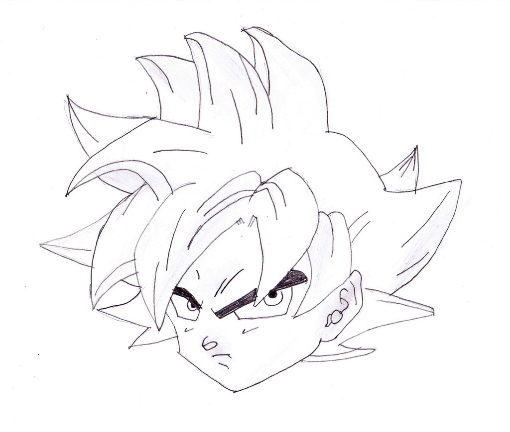 Dragon Ball Z Drawing
