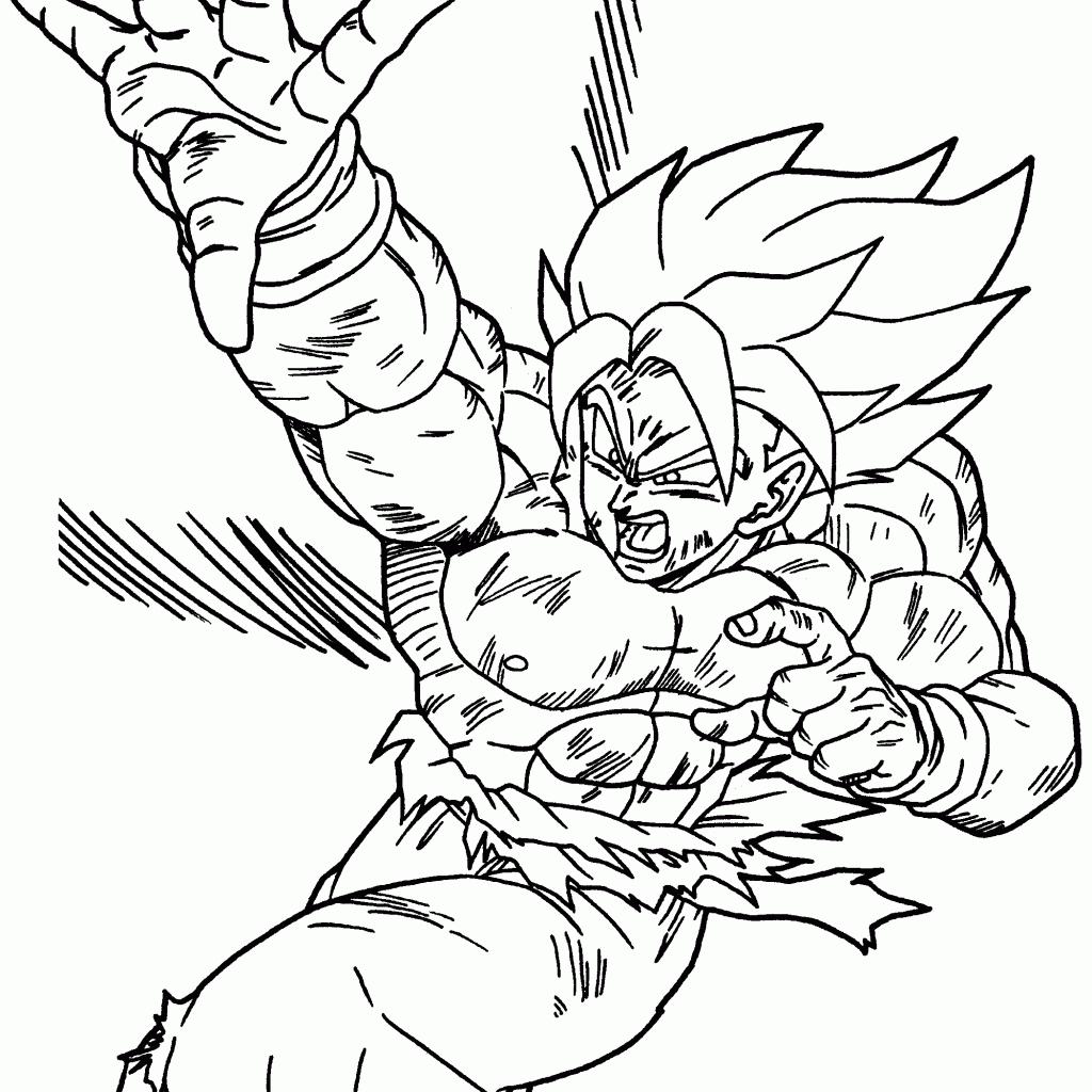 Dragon Ball Z Drawing Games At GetDrawings